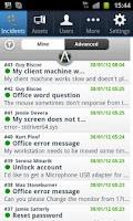 Screenshot of SysAid Helpdesk App