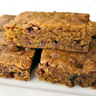 Blueberry and Cranberry Pumpkin Bars.