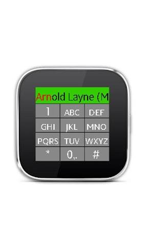 Dialer for SmartWatch Screenshot