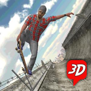 101 Skateboard Racing 3D for PC and MAC