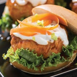 Spicy Chicken Burger.