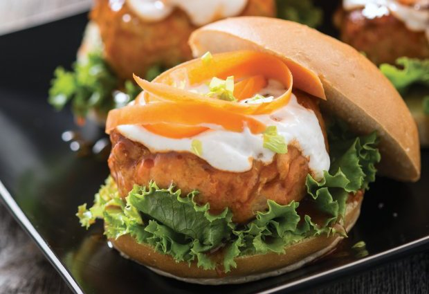 Spicy Chicken Burger Recipe
