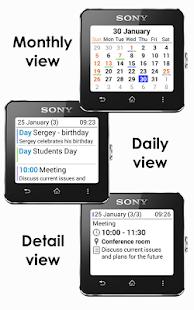 玩免費工具APP|下載Calendar SmartWatch app不用錢|硬是要APP