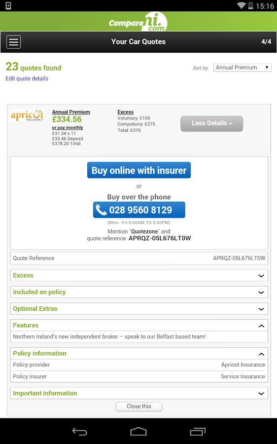 Cheap Car Insurance Northern Ireland