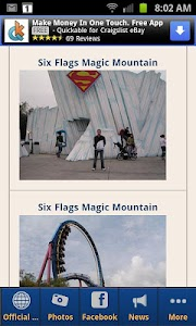 Six Flags Magic Mountain screenshot 1