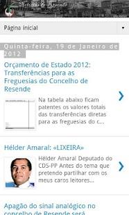 Notícias de Resende: News - screenshot thumbnail