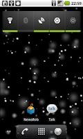 Screenshot of Snow Storm Live Wallpaper