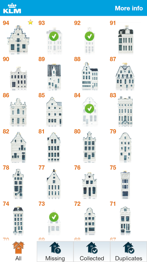 KLM Houses - screenshot