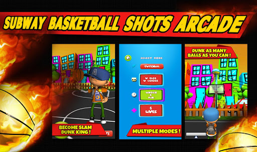Subway Basketball Shots Arcade