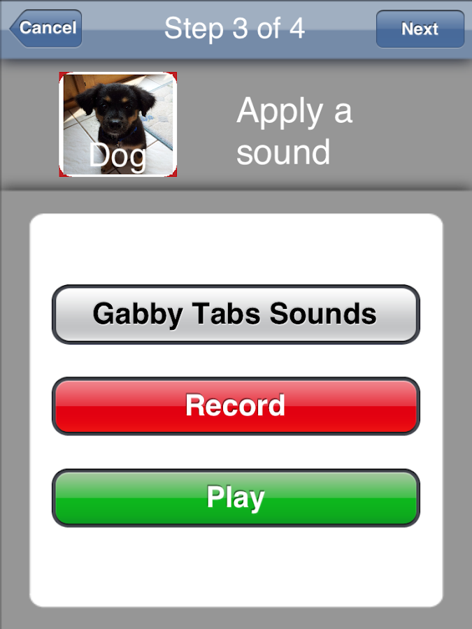 Gabby Tabs - AAC for Kids- screenshot