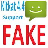 Fake SMS KitKat 4.4
