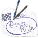 Draw and ride logo