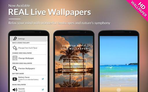 Paradise Beach Live Wallpaper