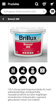 Screenshot of Brillux