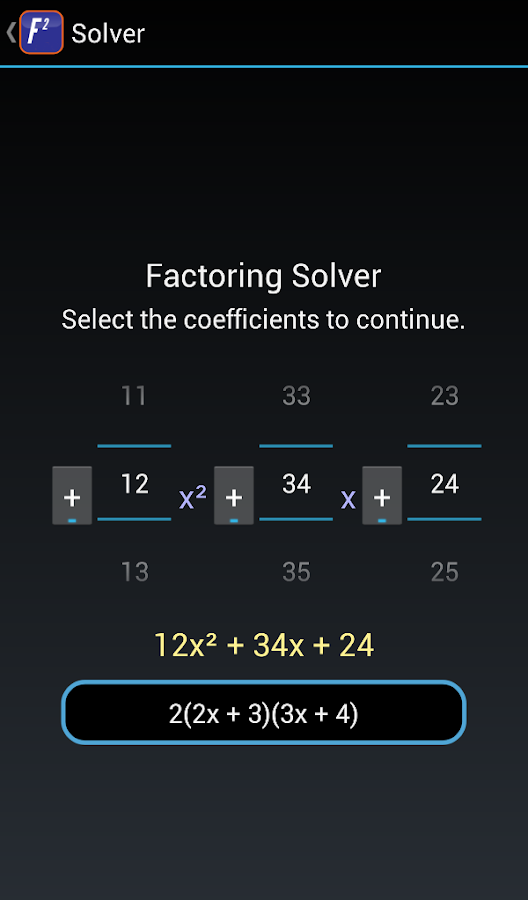 Fast Factor FREE -- Math Game- screenshot