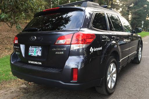 Rent a Blue Subaru Outback in Portland - Getaround