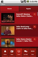 Screenshot of Salsa Dance