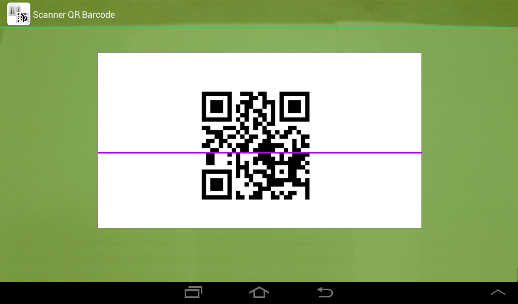 Scanner QR Barcode- screenshot
