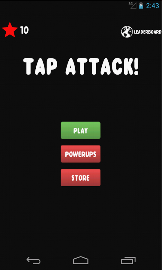 Tapattack!- screenshot