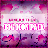 Purple Hearts Theme Icons Pack