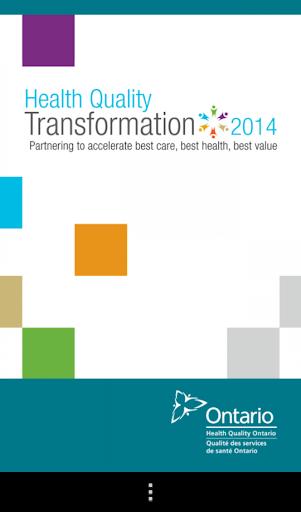 Health Quality Transformation