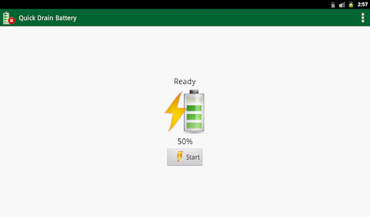 Quick Drain Battery