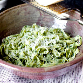 Fresh Spinach Pasta.