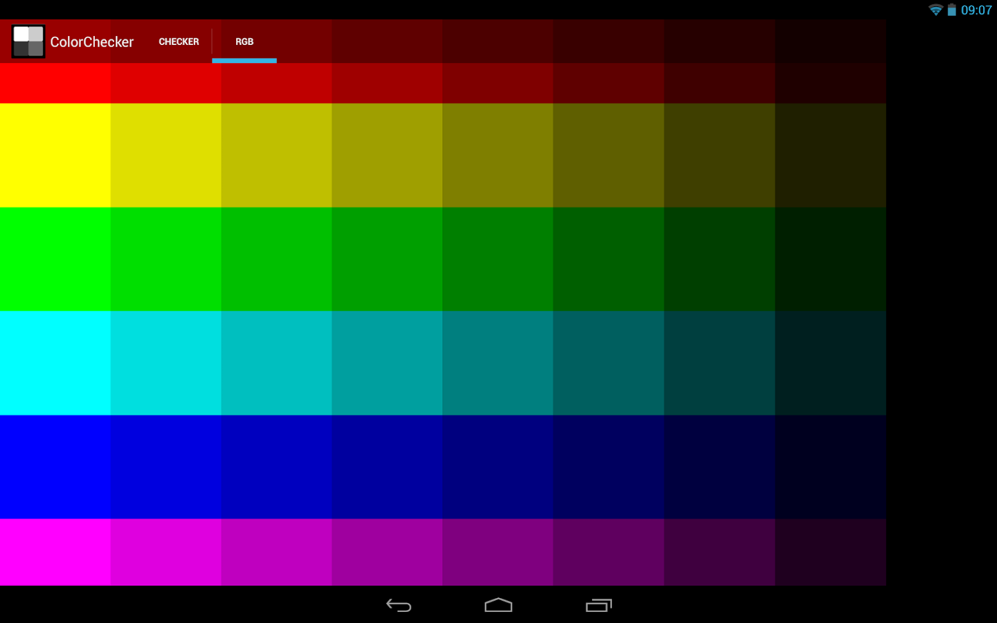 ColorChecker- screenshot