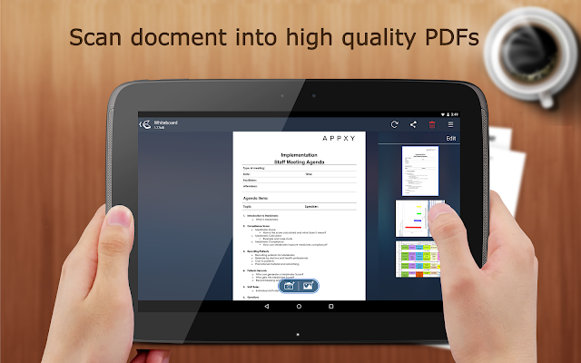 Tiny Scan Pro: PDF Scanner - screenshot