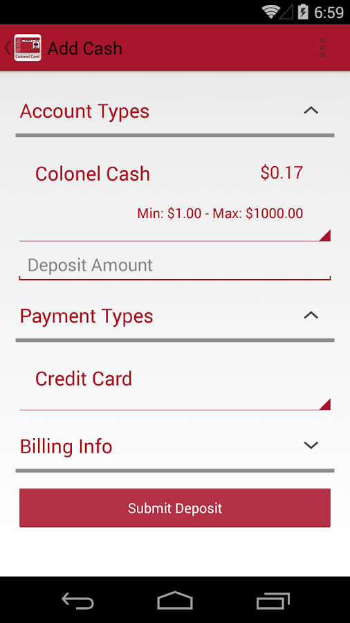 Colonel Card- screenshot