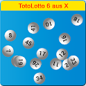 TotoLotto 6 aus X icon