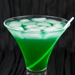 Tropical Leprechaun Drink.