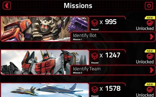 TRANSFORMERS Official App Screenshot 3