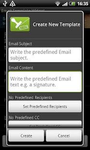 電子郵件模板