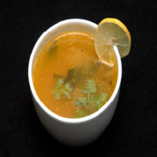 Chiken Rasam Consomme Style