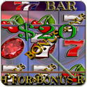 7's & BAR Vegas Slot Machine logo