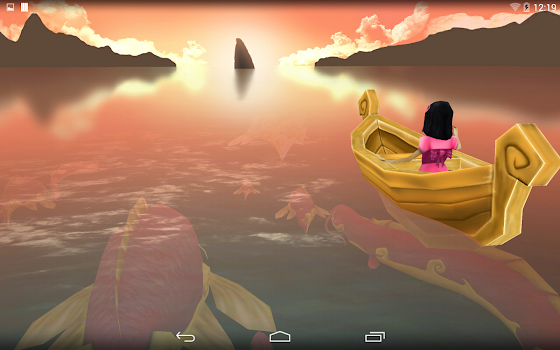 Spirit Lake 3D Wallpaper