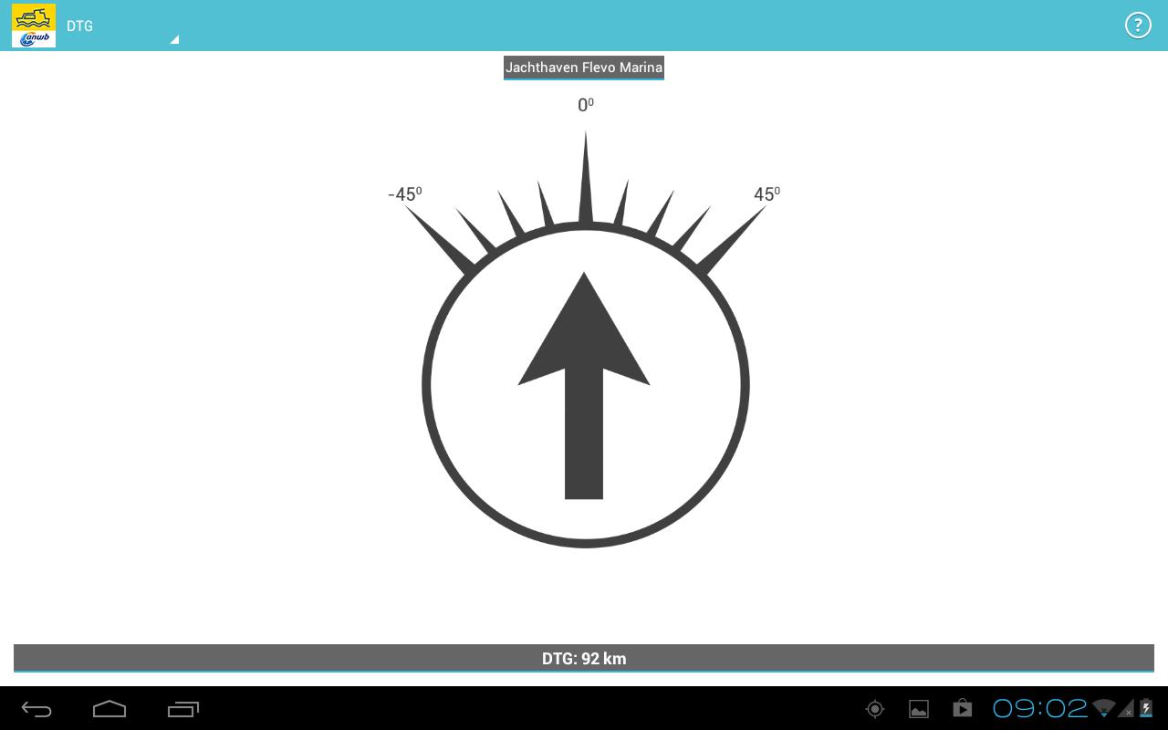 ANWB Waterkaarten- screenshot