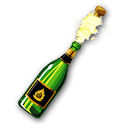 Champagne Blast: Pop the Cork! logo