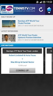 TennisTV EU - screenshot thumbnail