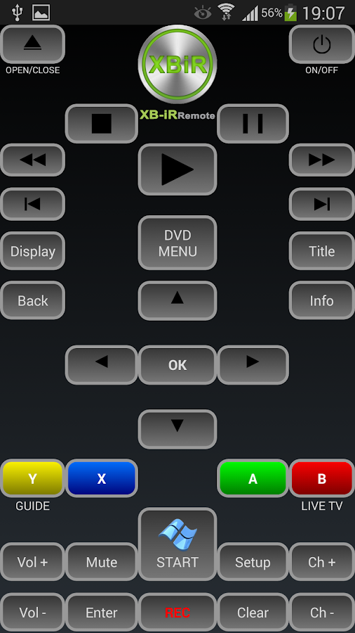 Ir xbox 360 remote android apps on google play ir xbox 360 remote screenshot ccuart Images