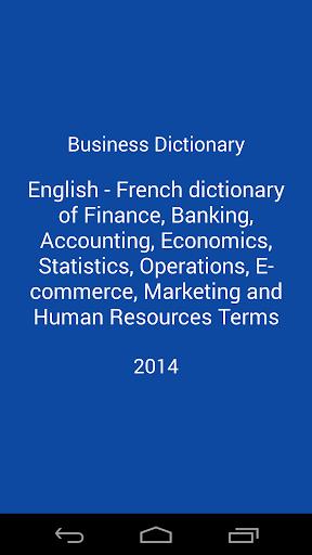 Business Dictionary En-Fr
