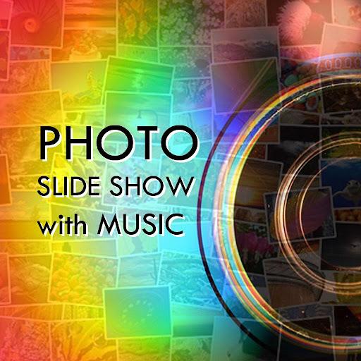 照片幻燈片與音樂