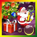 Santa Xmas Bubble Gifts HQ LWP icon