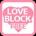 LOVEBLOCK FREE logo