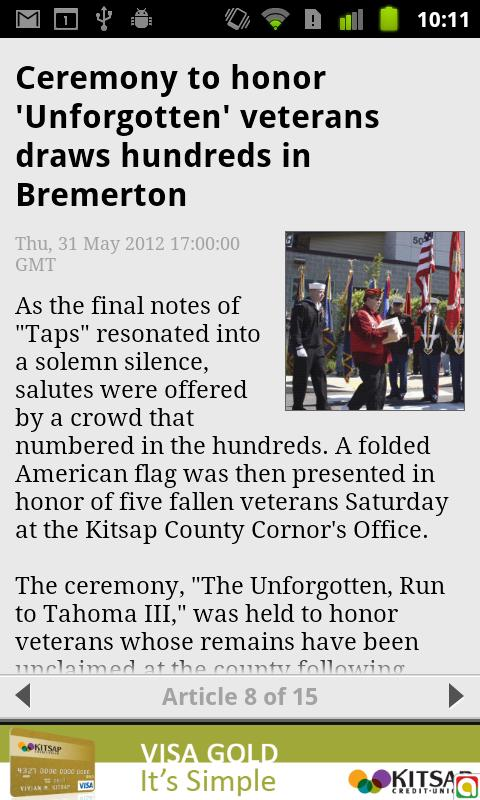 The Bremerton Patriot - screenshot