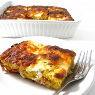 Skinny Cornbread Breakfast Casserole