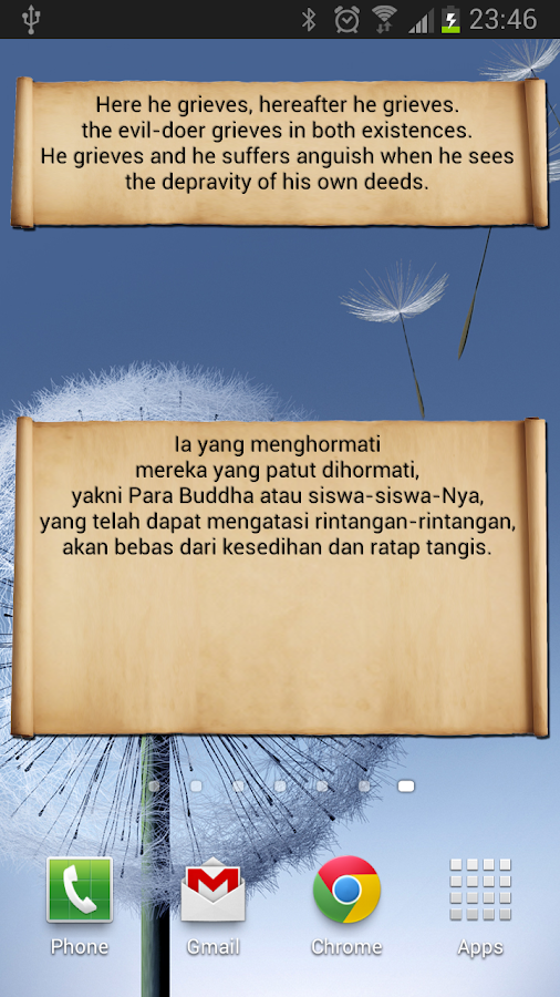 Dhammapada OS (Open Source) - screenshot