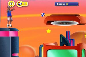Screenshot of Globetrotters Trick Shots