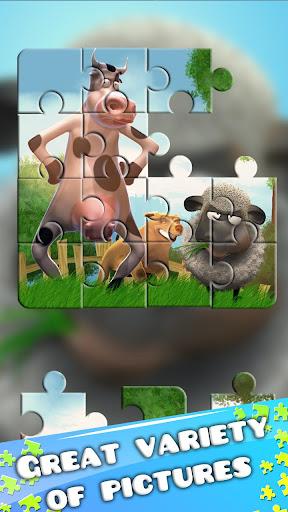 Farm Games Kids Jigsaw Puzzles  screenshots 1